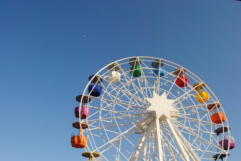 גלגל ענק,סופרלנד, לונה פארק, פארק שעשועים