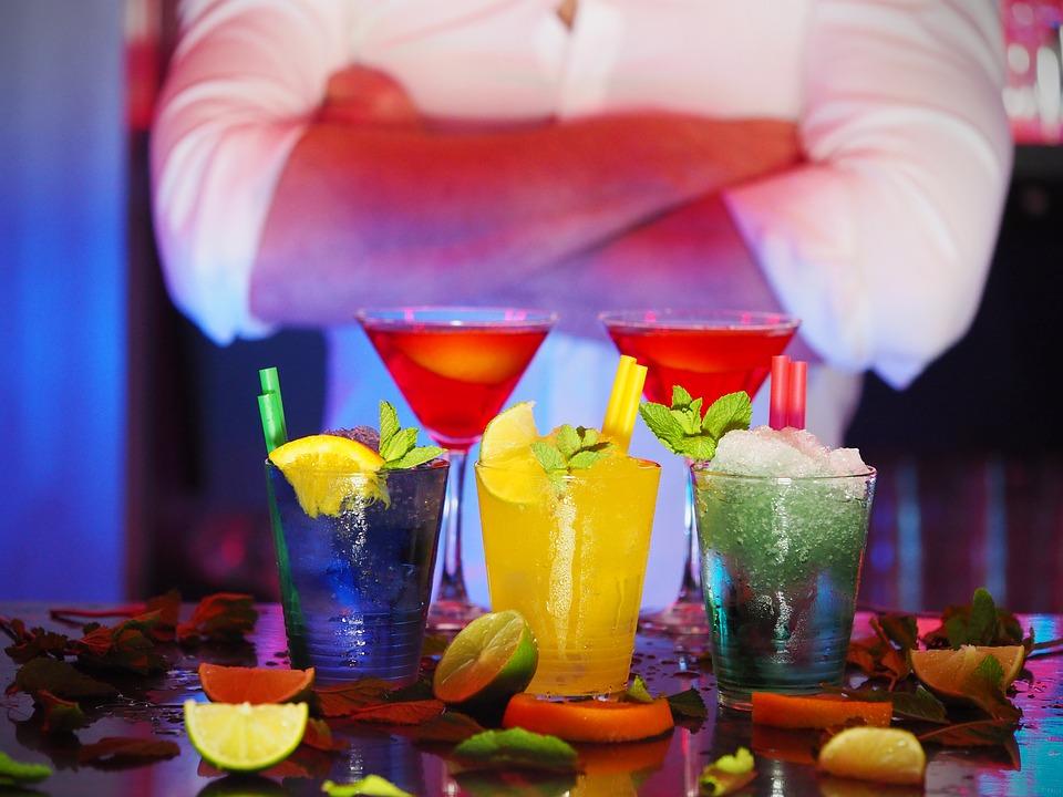 ברמן, אלכוהול, משקאות